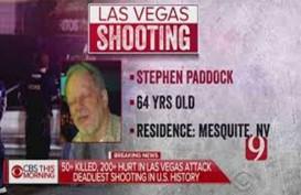 Inilah Sosok Si Pembantai Nyawa 59 Orang di Las Vegas