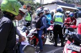Penunggak Pajak Kendaraan di Jakarta Dirazia