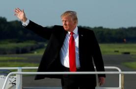 Kunjungi Las Vegas, Trump Tolak Bahas Kontrol Senjata