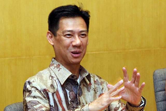 Presiden Direktur PT Danareksa Sekuritas Jenpino Ngabdi. - JIBI/Endang Muchtar