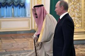 Raja Salman & Putin Bertemu Bahas Penyelesaian Terorisme