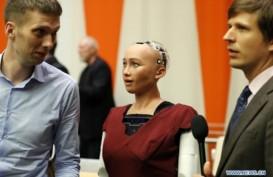 Robot Cantik Hadir di Konferensi PBB Sebagai Peserta