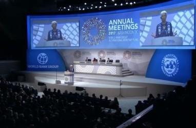 Puncak Rapat Tahunan IMF-World Bank : Lagarde Tekankan 3 Prioritas Kebijakan Ini