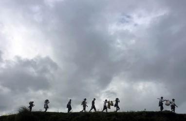 Astaga, Gajah Liar Injak Pengungsi Rohingya Hingga Tewas