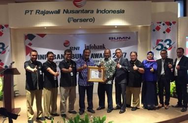 Kinerja Keuangan Cantik, RNI Raih Infobank Award