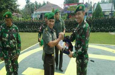 Satgas Yonif 611/Awang Long Akhiri Tugas Amankan Perbatasan RI-Malaysia