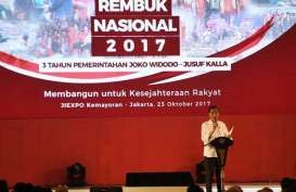 Rembuk Nasional2017 : Antispasi Perubahan Global, Jokowi Siapkan Nawa Cita Jilid II