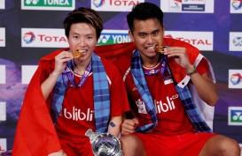 Jokowi Ucapkan Selamat kepada Tontowi/Liliyana dan Greysia/Apriyani