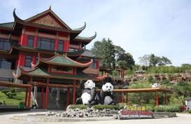 Istana Panda Bernuansa Oriental di Taman Safari