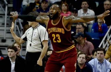 Hasil NBA: LeBron James Cetak 57 Angka, Cavs Menang Atas Wizard