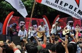 Kahiyang Menikah, 30 Bis Berisi Relawan Jokowi 'Serbu' Kota Solo