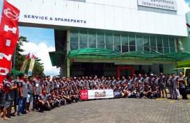 Hino Kampanye Keselamatan Berkendara ke Manado