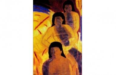 DKJ Pamerkan Koleksi Lukisan 4 Maestro Abstrak Indonesia