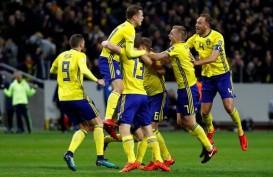 Hasil Pra-Piala Dunia 2018: Italia Terguling di Swedia