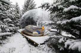 Hotel 'Gelembung' di Islandia Tawarkan Pemandangan Alam Secara Langsung