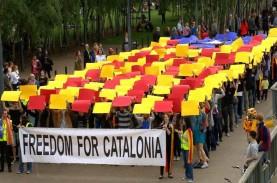 Madrid Curigai Intervensi Rusia Dalam Referendum Catalonia