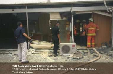 Ini Penyebab Kebakaran Gedung Nusantara III DPR