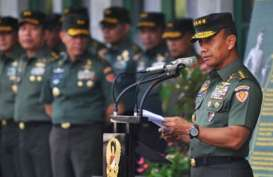 KSAD Jenderal TNI Mulyono Lantik 676 Perwira Muda