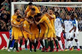 Dua Penalti Loloskan Australia ke Piala Dunia 2018