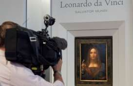 Lukisan Kristus Karya Leonardo da Vinci Terjual Rp6 Triliun