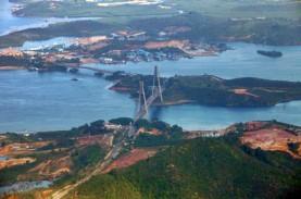 Komisi V DPR Tinjau Jembatan Barelang I