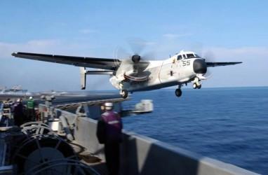 Pesawat Angkatan Laut AS Jatuh di Laut Filipina, 3 Orang Hilang