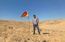 Pria Ini Berniat Bikin Negara di Tanah Tak Bertuan
