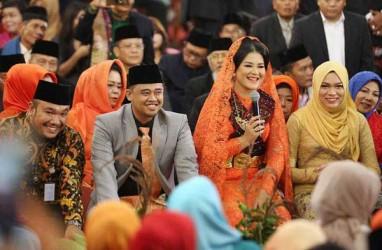 Cantiknya Kahiyang Ayu dalam Pesta Adat di Medan Kemarin