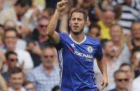 Conte Berharap Hazard Terus Jadi Pemain Penentu di Chelsea