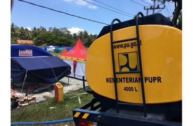 Kementerian PUPR Mobilisasi Prasarana dan Sarana Bantu Korban Erupsi Gunung Agung