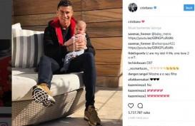 Cristiano Ronaldo, Orang Nomor 2 Paling Banyak Diikuti di Instagram