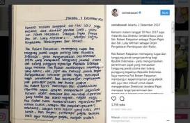Sri Mulyani Tulis Pesan untuk Robert Pakpakan di Instagram
