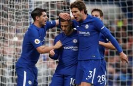Hasil Liga Inggris: 2 Gol Hazard Bawa Chelsea Bekuk Newcastle 3-1