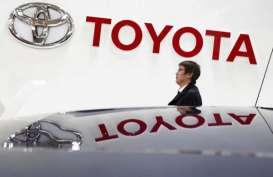 Toyota Terpeleset di China
