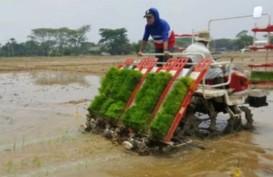 MESIN TANAM PADI : Jarwo Tipe Riding Diluncurkan