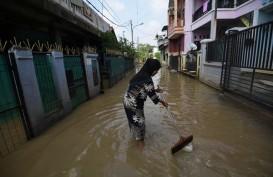 Jakarta Banjir, Anies Minta Tanggul Jati Padang Diganti Beton Bukan Sak Pasir