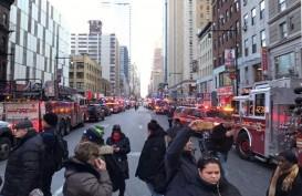 BOM NEW YORK : Polisi Perketat Pengamanan Time Square
