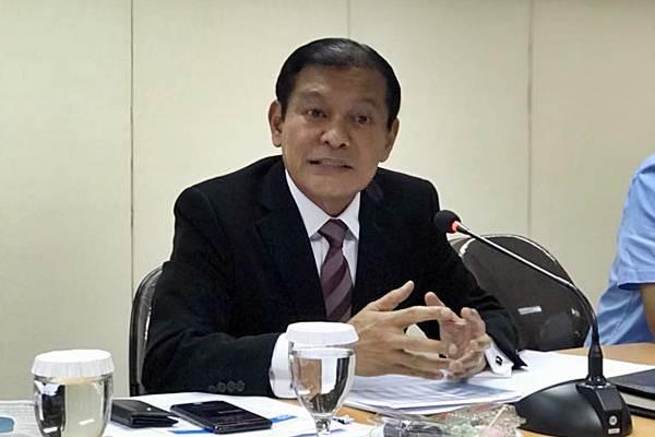 CEO Citibank Indonesia Batara Sianturi berkunjung ke redaksi Bisnis Indonesia, di Jakarta, Jumat (15/12). - JIBI/Arif Budisusilo