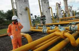 PASOKAN GAS INDUSTRI SERET : Produksi Kacau