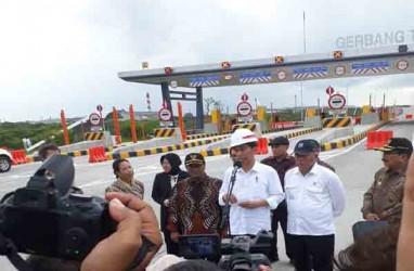Jokowi Resmikan Tol Surabaya-Mojokerto