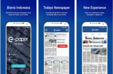 Akses Gratis Epaper Bisnis Indonesia via Aplikasi Android & iPhone, Mau?