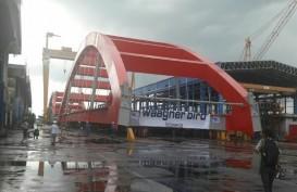 Kapal Merapat, Pembangunan Jembatan Holtekamp Bisa Lebih Cepat