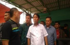Haji Lulung Wara-Wiri di Tenda PKL Tanah Abang Bikinan Anies-Sandi