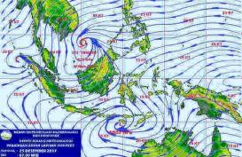 CUACA JABODETABEK 25 DESEMBER: Potensi Angin Kencang di Sejumlah Wilayah