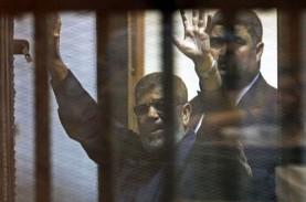 Mantan Presiden Mesir Mursi Dihukum 3 Tahun Penjara
