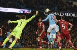 Hasil Piala Liga: Manchester City Susah Payah Taklukkan Bristol