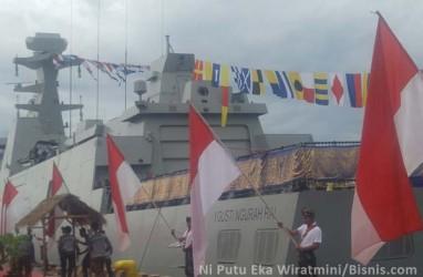 KRI I Gusti Ngurah Rai Dikukuhkan Jadi Kapal Perusak Kawal Rudal