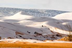 Gurun Sahara Ditutupi Salju untuk Ketiga Kalinya