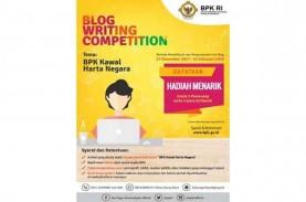 BPK Gelar Lomba Menulis Blog Berhadiah Total Rp30…