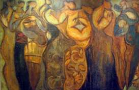 Perupa Gigih Wiyono Sampaikan Pesan Tentang Dewi Sri & Ibu